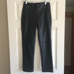 Topshop Faux Leather Ankle Pants NWOT Sz4